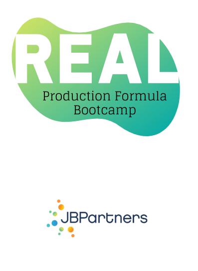 Real Production Formula Bootcamp