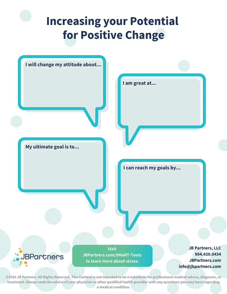 Increasing your Potential for Positive Change